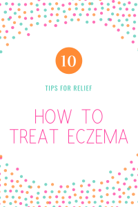 how to treat eczema 10 tips for relief colorful dots