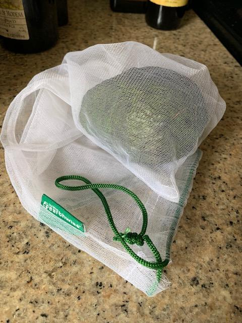 reduce your waste with mesh produce bags