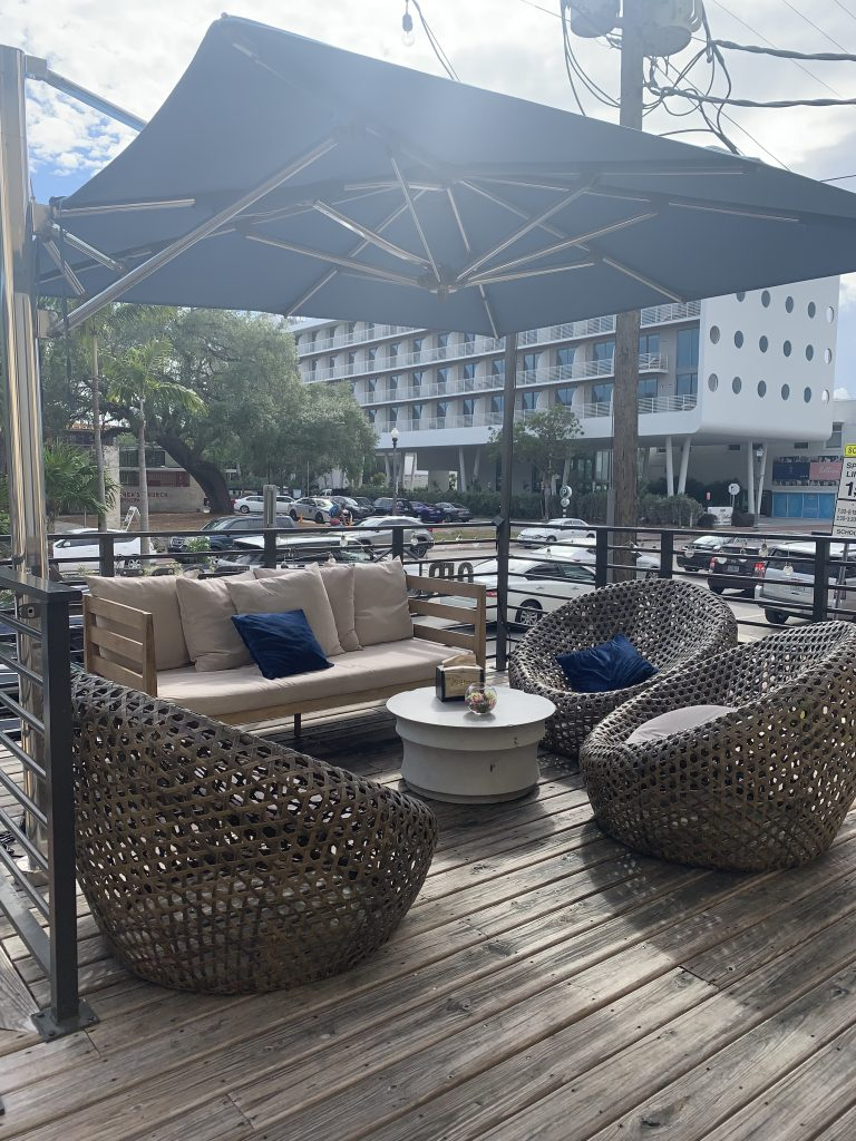 maimi beach vshops patio