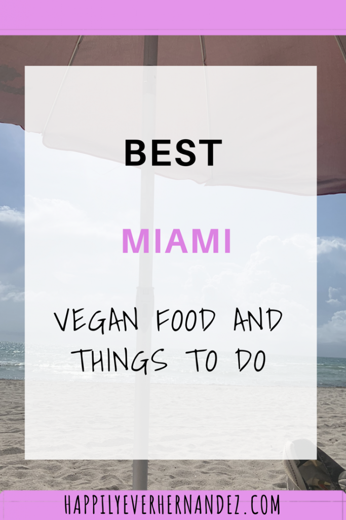 best Miami things to do beach with umbrella