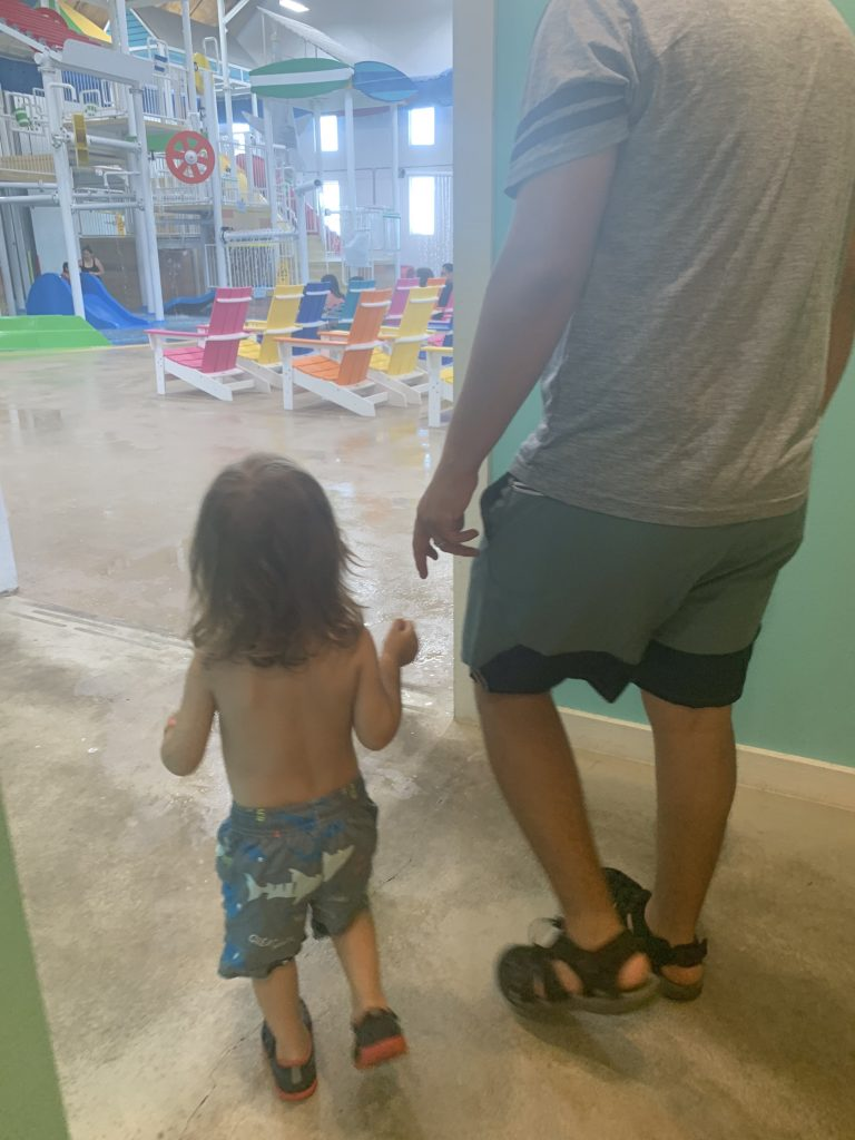 things to do in Austin with toddlers splash shack