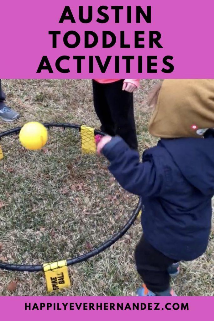 Austin toddler activities pin