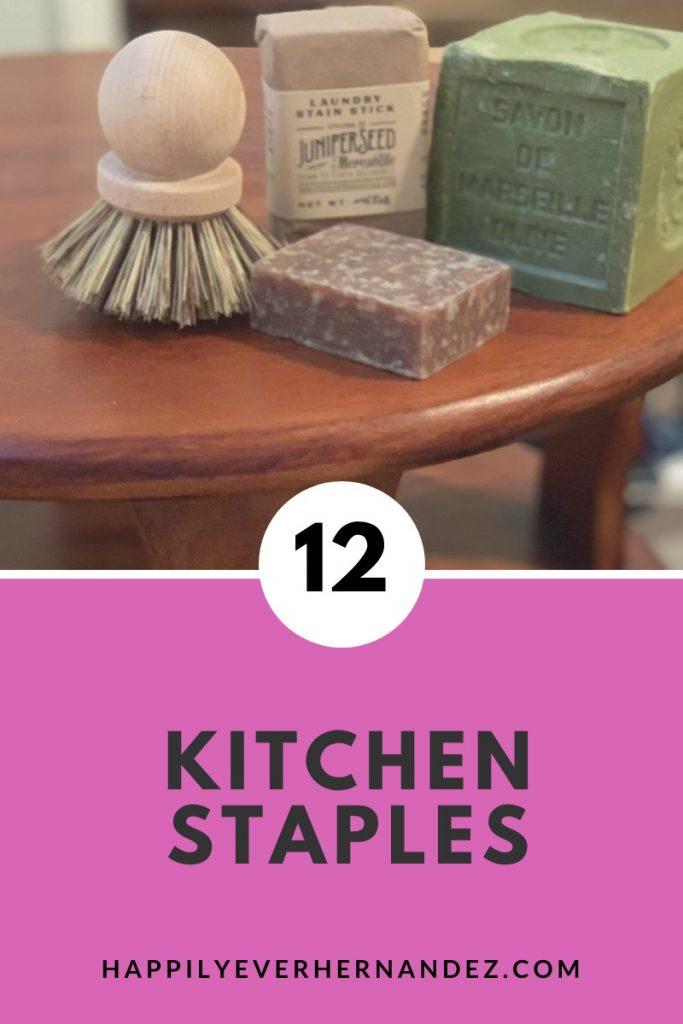12 kitchen staples