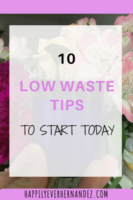 ten tips to reduce your waste today